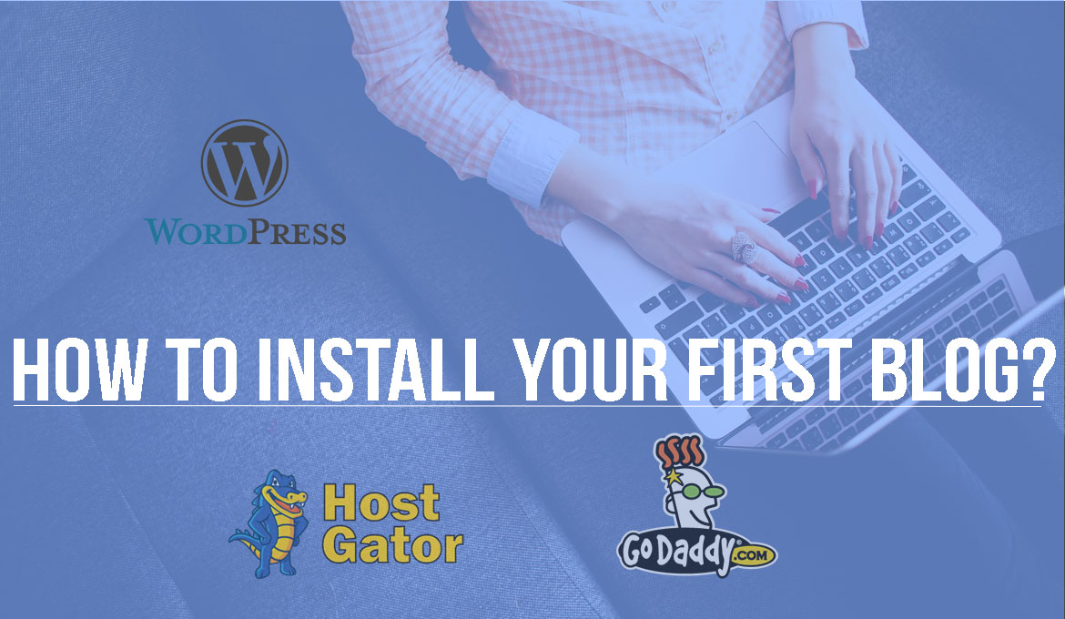 install your first WordPress blog