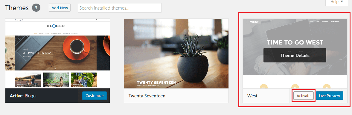 How to Install A Theme in WordPress- A Beginner's Guide