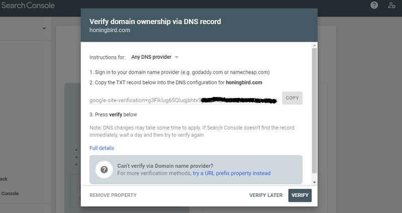 Verify-your-domain-via-DNS