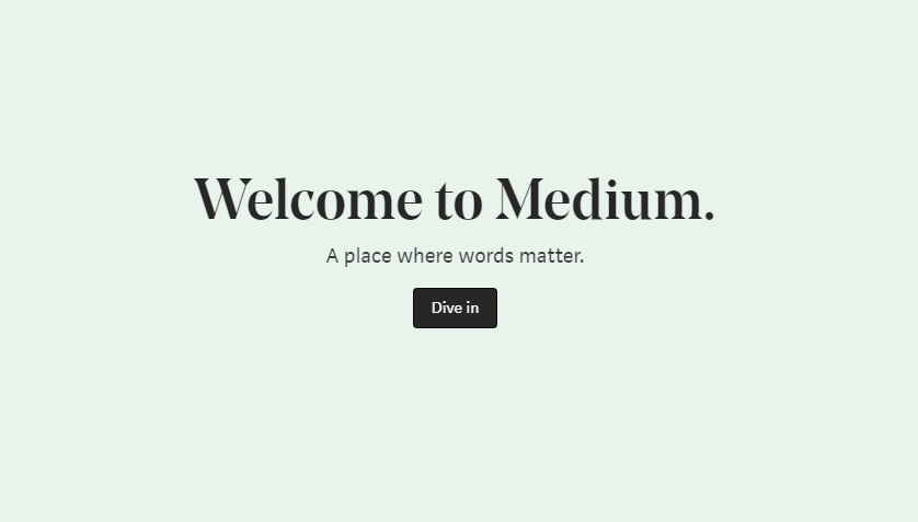 Best Blogging Sites in India - Medium