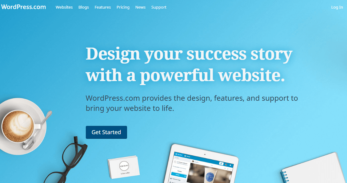 Best Blogging Sites in India - WordPress