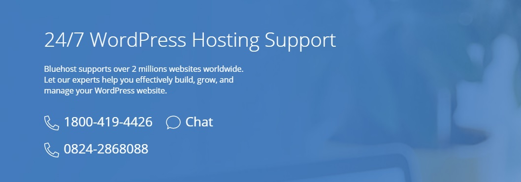 Bluehost India Customer Support